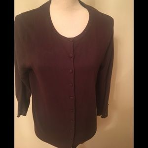 Woman Cardigan brown L
